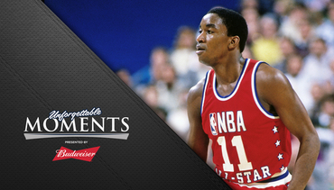 Unforgettable Moments, presented by Budweiser: Isiah Thomas All-Star MVP