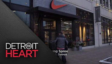 Detroit Heart: PeacePlayers Nike Shopping Event