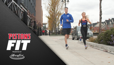 Pistons Fit, presented by Henry Ford Health System: Pistons Fit Running Routes #2