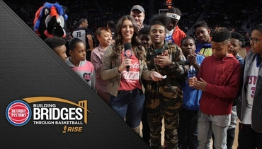 Pistons in the Community: Building Bridges Through Basketball