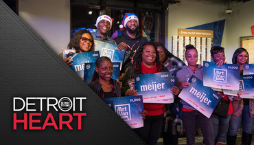 Detroit Heart: Adopt-A-Family Dinner and Toy Giveaway
