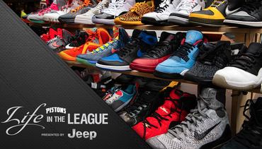 Life in the League, presented by Jeep: Sneaker Swap