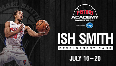 Ish Smith Development Camp. July 16-20