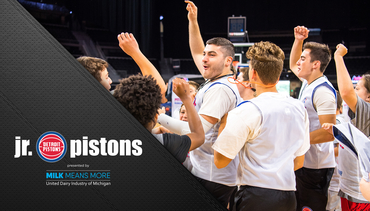 Jr. Pistons: Summer Basketball Camps
