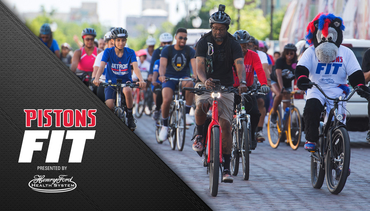 Pistons Fit, presented by Henry Ford Health System: Detroit Bike Tour