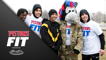 Pistons Fit: Military Confidence Course