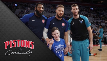 Pistons in the Community: Autism Awareness Night 2019