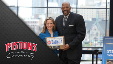 Pistons in the Community: Pistons License Plates