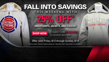 Fall Into Savings, 25% Off Select Items
