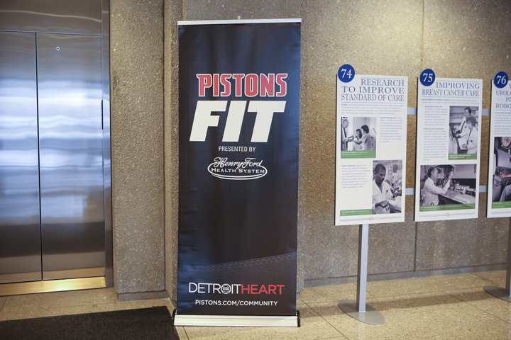 2nd Annual Pistons Fit 'Ready-Set-Cook!' Competition, pres. by Henry Ford Health System