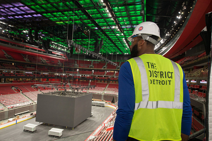 Photos: Andre Drummond Visits LCA