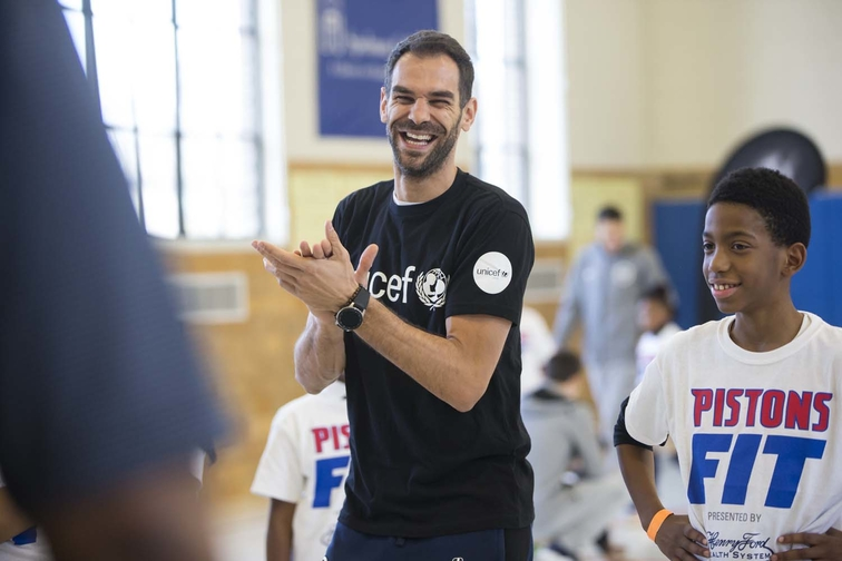 Pistons Fit Clinic - March 29, 2019