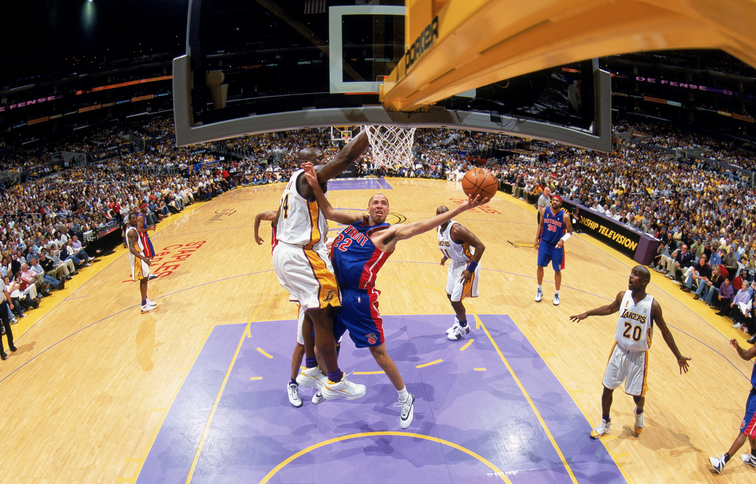 2004 NBA Finals, Game 1