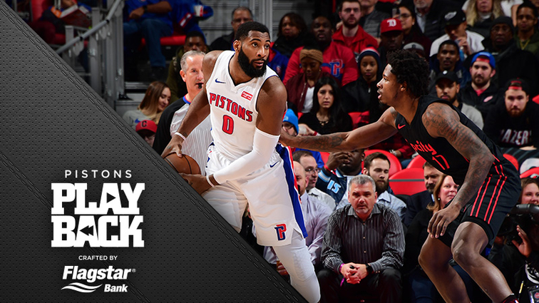 Pistons' Andre Drummond named Eastern Conference player of week