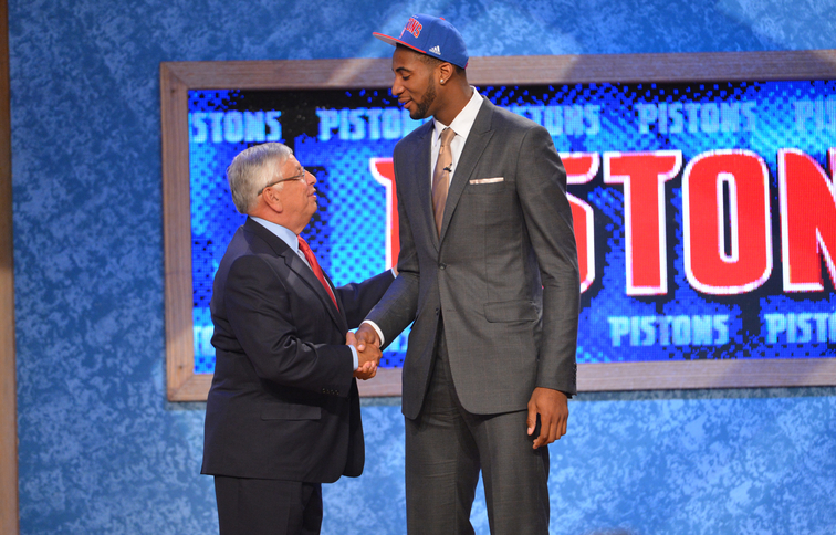 Andre Drummond at the 2012 NBA Draft