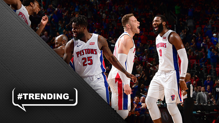 Andre Drummond posts a gem, sprains ankle in Pistons' win