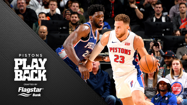 3f497316d3ba Blake Griffin s career-high 50 points was topped by his game-winning three- point play with 1.8 seconds left in overtime as the Pistons beat  Philadelphia to ...