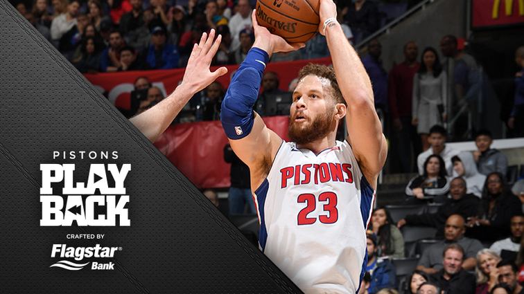 518e7df34616 A loud statement from Blake Griffin (44 points) helps Pistons win his  homecoming game