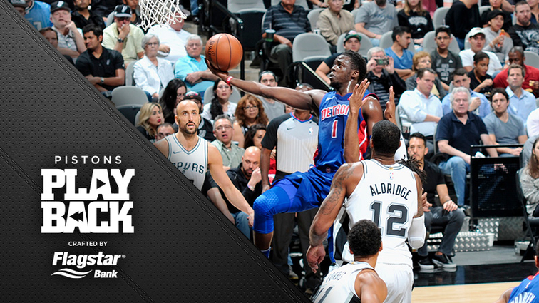 Spurs grind out comeback win against tough Pistons team