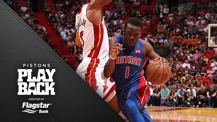 716eae214 A night to forget  Pistons staggered at Miami as offense thrown in reverse
