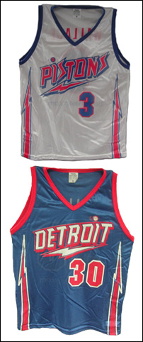 acc01ee3 Detroit Pistons Go Retro: Honor the Lightning Bolt Era. Team to Give Away  Wallace Jerseys ...