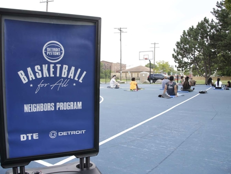 Basketball for All Clinic Bennett Park- July 25, 2019