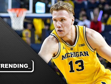 Michigan's Brazdeikis 'leaning toward staying' in draft after combine, Pistons workout