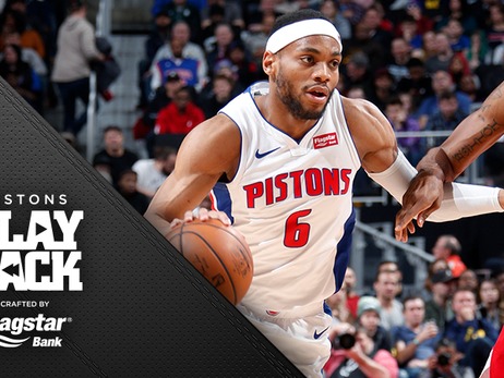 Brown's energy, D help Pistons storm Wizards in third quarter to get 'must' win