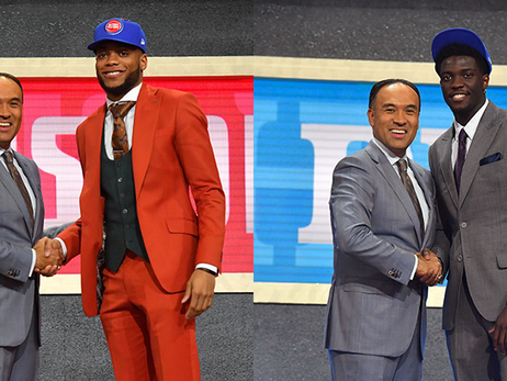 Pistons double up, come out of draft night with Thomas, Brown to bolster wing depth