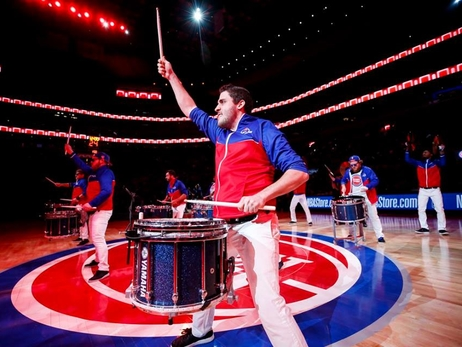 Drumline - Pistons vs Clippers