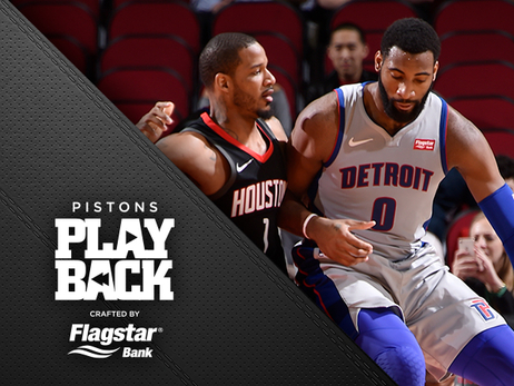 Miserable 3-point shooting keeps Pistons from upset at Houston and 3-game win streak in OT loss