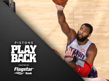 Drummond dominates fourth quarter as Pistons avoid loss to shorthanded Knicks