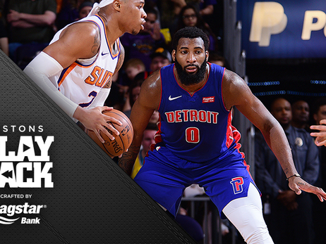 Pistons crank up the D, turn a desert nail-biter into a blowout