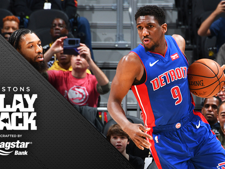 Shots fall as Pistons make quick work of Hawks to sweep road trip