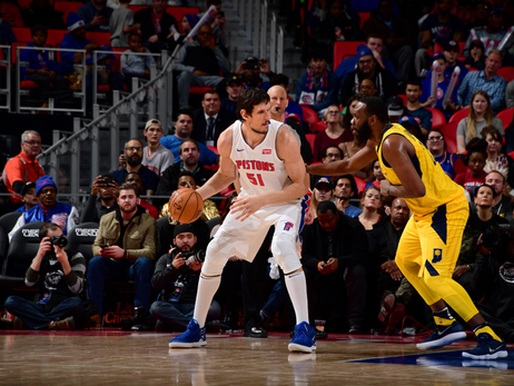 Pistons 107, Pacers 83