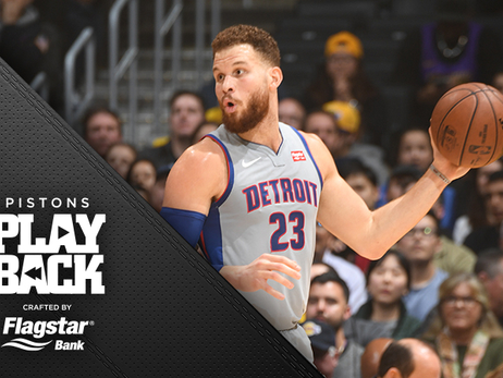 Griffin's return falls flat as Pistons lose to Lakers; 'We didn't take anything away'