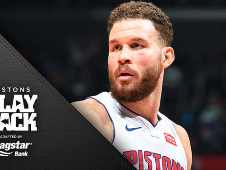 Pistons 2-0 in revenge games: Griffin sizzles in 44-point return