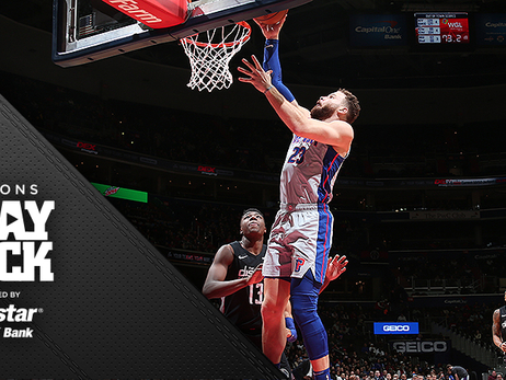 Slow-starting Pistons take a beating in Washington holiday matinee