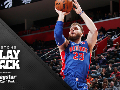 Griffin, Drummond dominant as Pistons roll to 4th straight win, beat Wizards