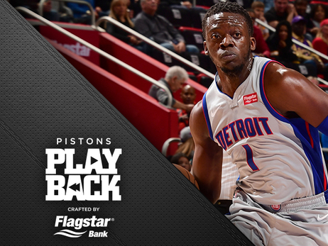 Pistons kick it into gear in second half, get lift from Jackson to beat Lakers