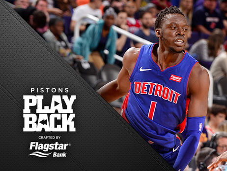 Another night, another road W: Pistons pull away from Suns in Reggie's return