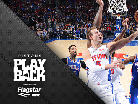 Blake gets a break: Pistons, down 4 key players, battle but fall to Philly