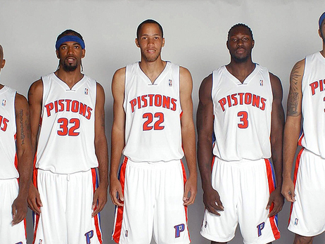 The Goin' to Work Pistons: 5 fingers became an iron fist