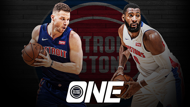 Blake Griffin and Andre Drummond