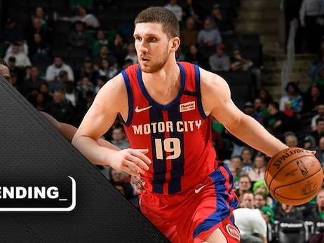 Silver lining: Mykhailiuk cementing himself as a piece of Pistons future