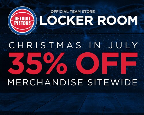 Pistons Locker Room Store