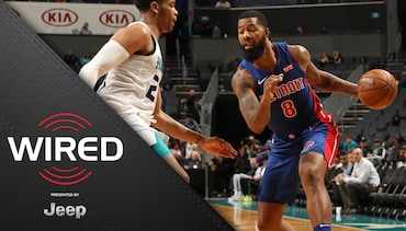 Wired, presented by Jeep: Pistons at Hornets