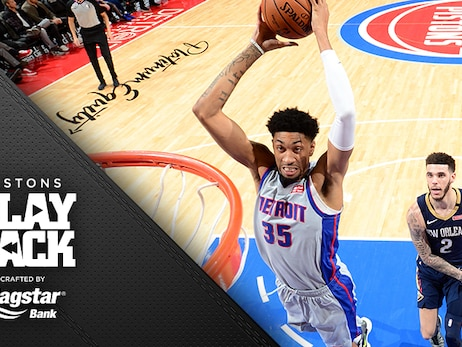 Young Pistons catch Casey's eye and 'earn the right' to finish OT loss to Pelicans