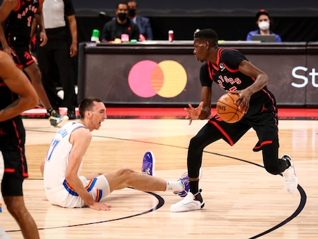 Raptors take down Thunder in historic night for Montreal hoops