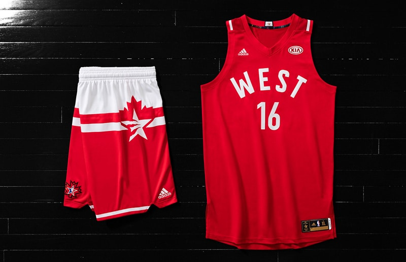NBA, adidas Unveil 2016 All Star Game Uniforms •